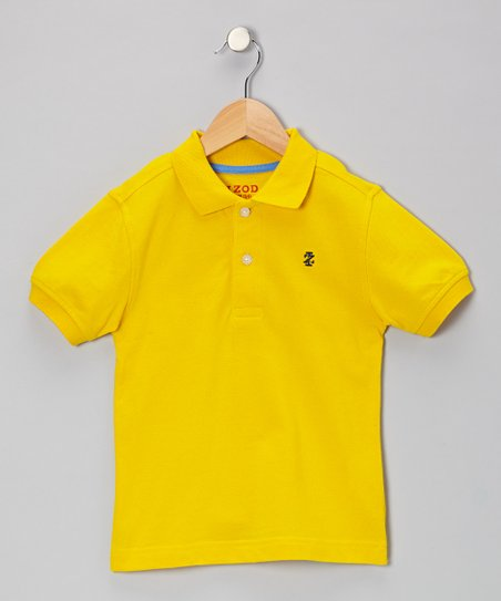 Bright Sun Piqué Polo - Toddler & Boys