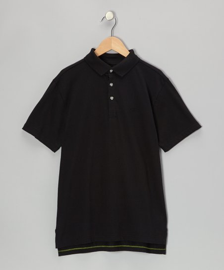 Black Polo - Infant