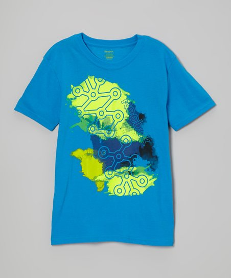 Risk Blue Tread Tee - Boys