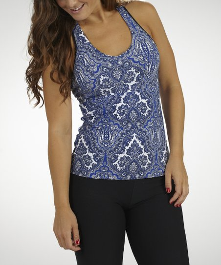 Amparo Blue Dream On Racerback Tank