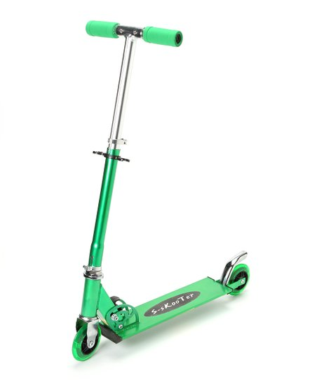 Green Aluminum Scooter