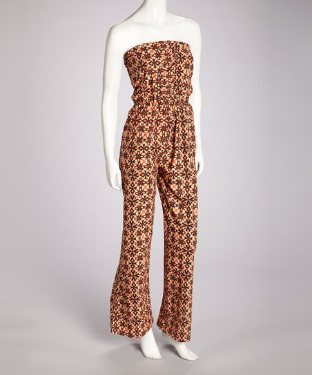 Rust Juniper Jumpsuit