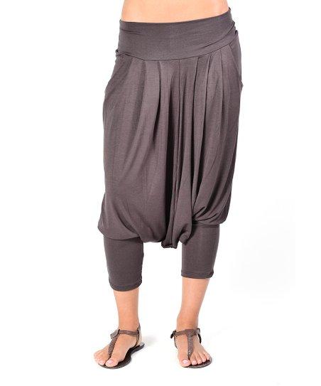 Brown Rosie Harem Pants