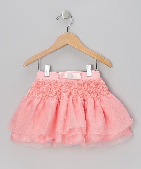 Coral Rosette Skirt - Infant & Toddler