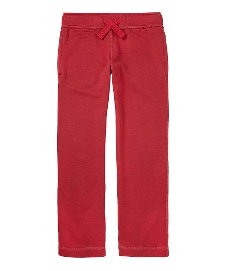 London Red Fleece Pants - Boys