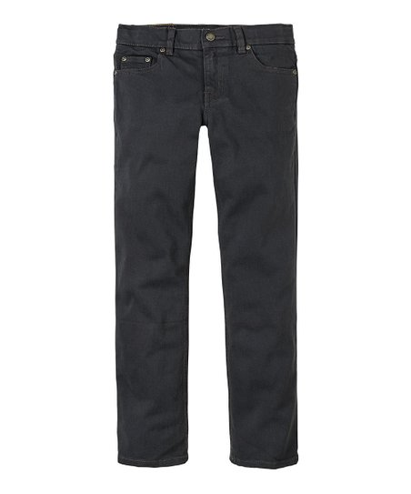 Washed Black Corduroy Pants - Boys