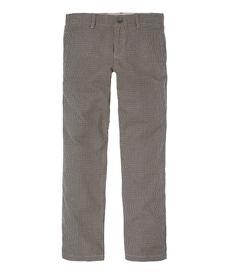 Field Khaki Houndstooth Pants - Infant, Toddler & Boys