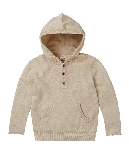 Oatmeal Heather Sweater Hoodie - Infant, Toddler & Boys