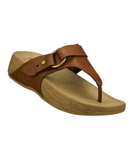 Brown Nuts & Honey Tone-Ups Sandal