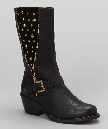 Black Bernardo Boot