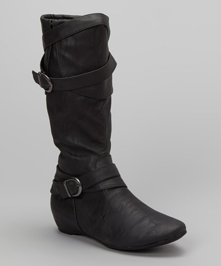 Black Pacific Boot