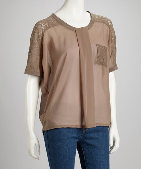 Falcon Sheer Lace Top
