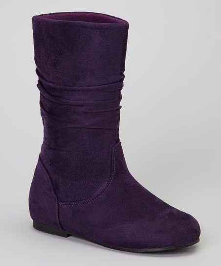 Purple Hot Boot