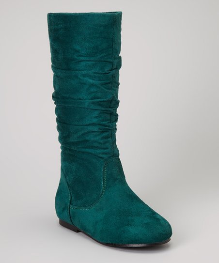 Green Poppy Boot