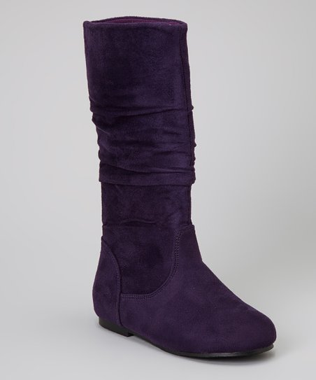 Purple Poppy Boot