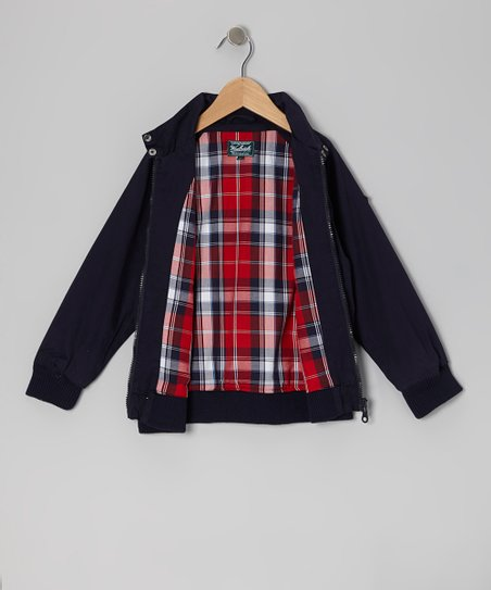 Navy Twill Jacket - Infant, Toddler & Boys