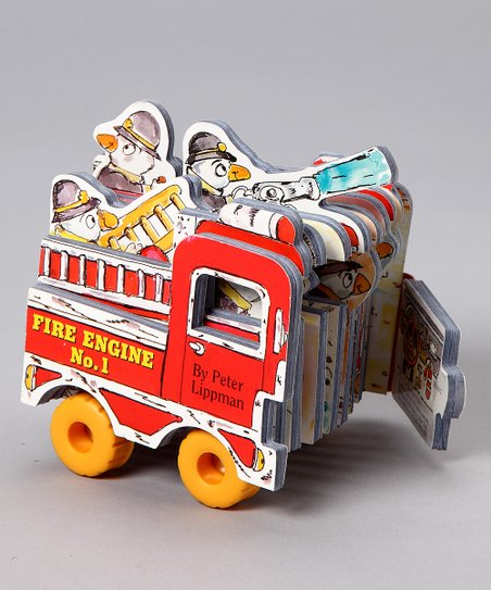 Mini Wheel Books: Fire Truck Board Book