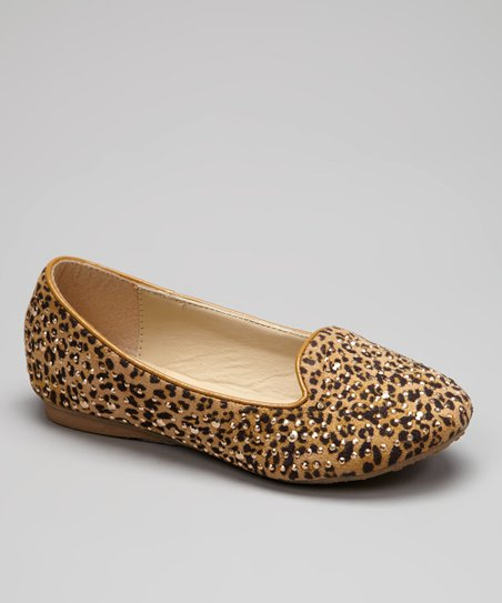 Camel Embellished Coral Loafer