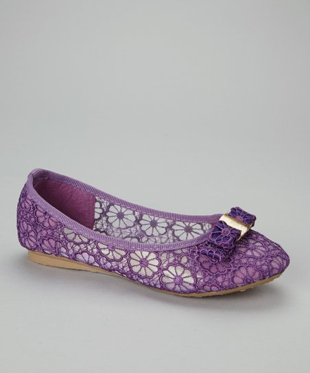 Purple Jaylen Flat