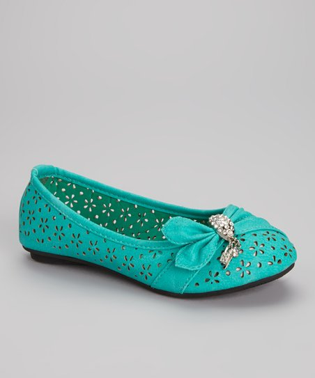 Sea Green Machita Flat