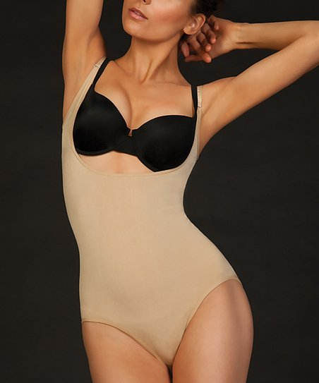 Nude Seamless Under-Bust Body Shaper - Women & Plus