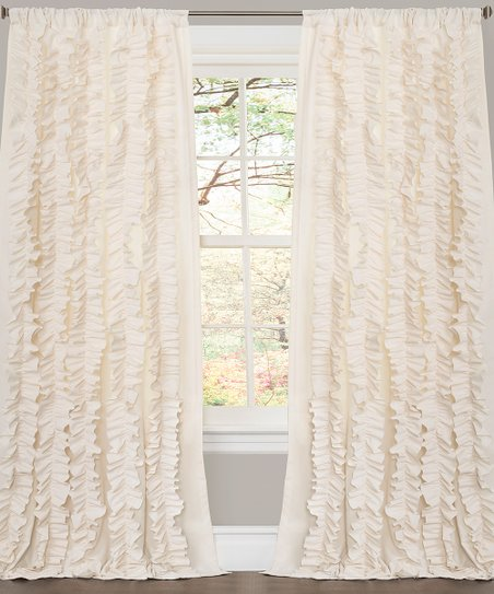Ivory Belle Curtain Panel