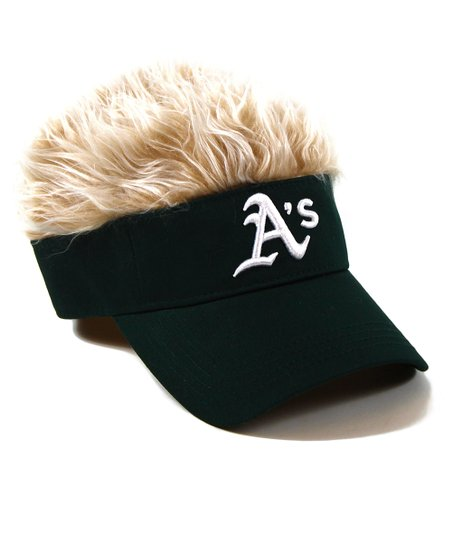 Oakland Athletics Green Crazy Visor