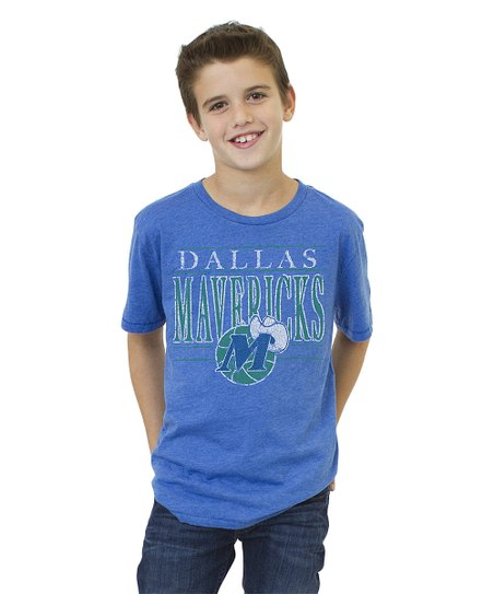 Light Blue Dallas Mavericks Tee - Boys