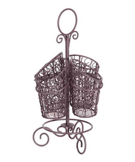 Bronze Rotating Wire Caddy