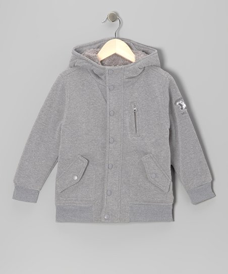 Gray Premier League Jacket - Boys