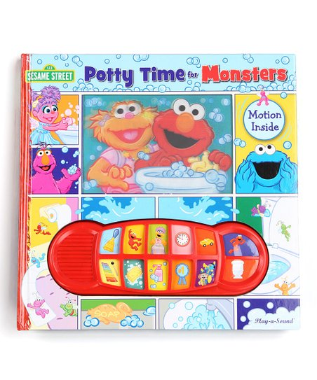 Potty Time for Monsters Board Book