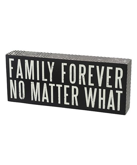 'Family Forever' Wall Sign