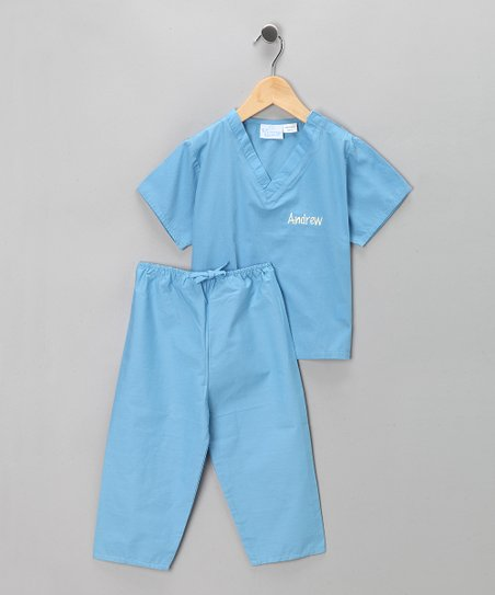 Blue Scrub Personalized Dress-Up Set - Infant & Toddler