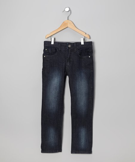Black Sandblast Jeans - Toddler & Boys