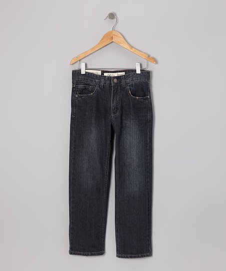 Dark Stone Wash Jeans - Toddler & Boys