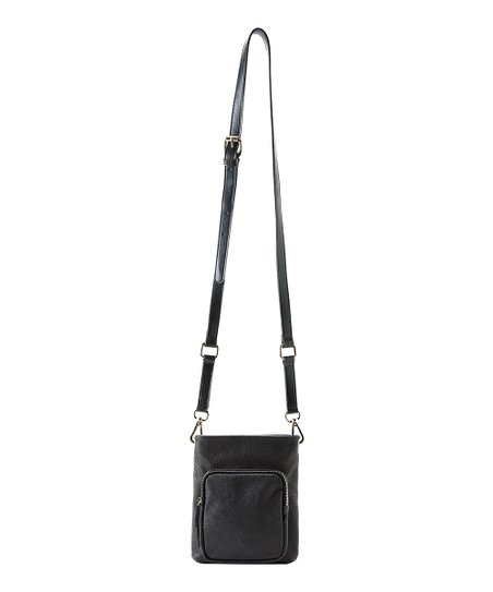Black Parker Mini Crossbody Bag