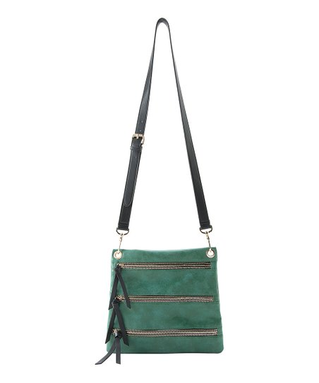 Emerald Eve Crossbody Bag