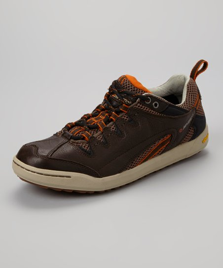 Dark Chocolate & Stone Sierra Hi-Top Sneaker - Men