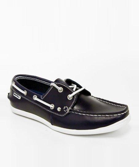 Navy Hyannis Loafer