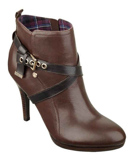 Brown Rainfall Bootie