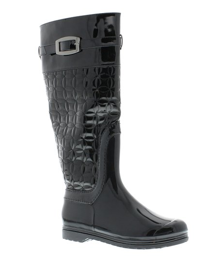 Black Whipper Boot