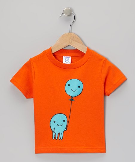 Orange Balloon Tee - Infant