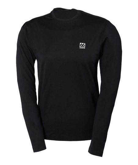 Black Gunnar Long-Sleeve Top