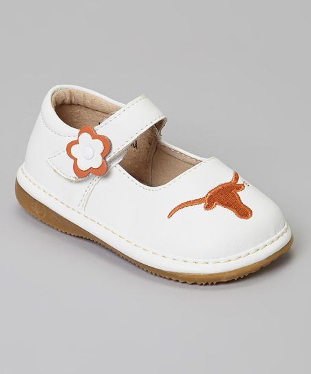 Texas Longhorns Squeaker Mary Jane
