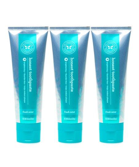 6-Oz. Mint Toothpaste - Set of Three