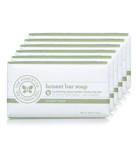 Juniper Sage Bar Soap - Set of Six