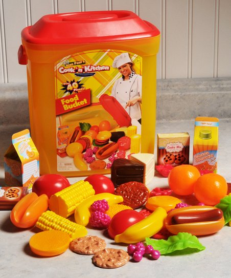 Gourmet Food Cook 'N' Kitchen Play Set