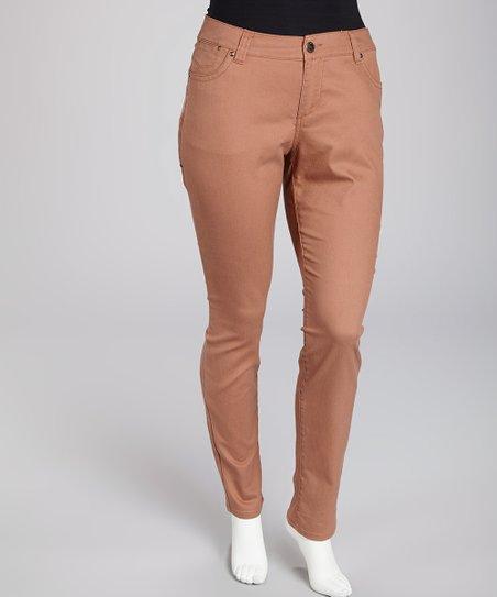 Blush Tribeca Skinny Jeans - Plus