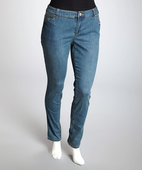 Medium Blue Amsterdam Signature Jeans - Plus