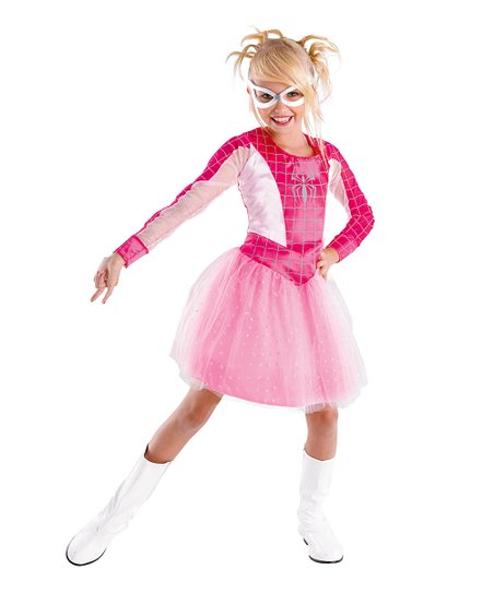 Pink Spider-Girl Dress-Up Set - Toddler & Girls